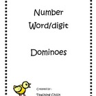 Number Words/digit dominoes