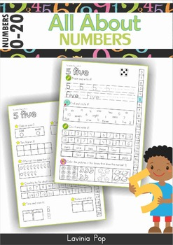 Number Worksheets - All About Numbers 0-20