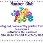 Number Writing-Number Club