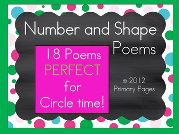 Number and Shape Poems