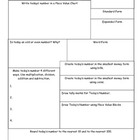 Number of the Day Calendar Companion Activity Sheet