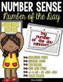 Number of the Day Mini-Books - Common Core Aligned