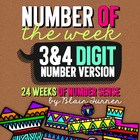 Number of the Week -- 24 Weeks of Number Sense
