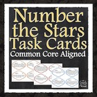 Number the Stars Comprehension and Analysis Task Cards - C