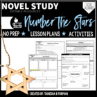 Number the Stars Novel Study with Lesson Plans