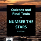 Number the Stars Quizzes and Two Final Tests