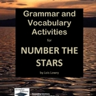 Number the Stars Vocabulary and Grammar Activities