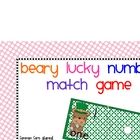 Number to set matching game