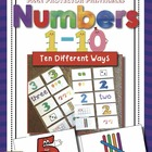 Number Sense: 1-10 Ten Different Ways