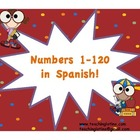 Numbers 1-120 in Spanish!