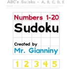 Numbers 1-20 Sudoku