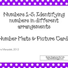 Numbers 1-5: Identifying numbers in different arrangements