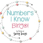 Numbers I Know Bingo