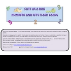 Numbers and Sets Flash Cards