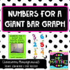 Numbers for a bar graph