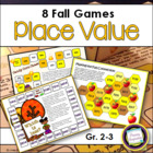 Numbers in Base Ten: Fall Place Value Games