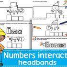Numbers interactive headbands
