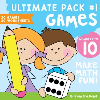 Numbers to Ten Ultimate Pack - Number Games