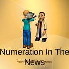 Numeration In  The News--Math Power point