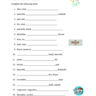 Numeros, Jours, Mois (Numbers, Days, Months in French) worksheet