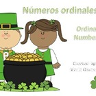Numeros Ordinales - Ordinal Numbers
