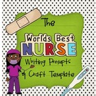 Nurse Week {Writing Prompts &amp; Class Book Cover}
