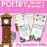 Nursery Rhyme 2 Poetry Station and Shared Reading CC aligned