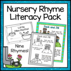 Nursery Rhyme Pack with Color Posters and Readers!