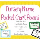 Nursery Rhyme Pocket Chart Packet