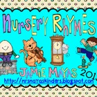 Nursery Rhymes {Beginning of Kindergarten Fun}