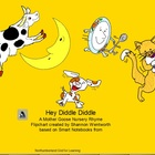 Nursery Rhymes - Hey Diddle Diddle Promethean Flipchart