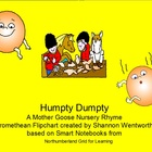 Nursery Rhymes - Humpty Dumpty Promethean Flipchart