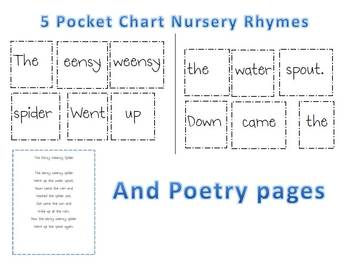 Nursery Rhymes Literacy and Math Activities