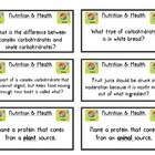 Nutrition Flashcards Review/Game