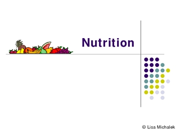 Nutrition PowerPoint Presentation Lesson Plan