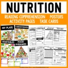 Nutrition and Food Unit - Mini Book and Activities