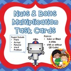 Multiplication Task Cards: CCSS 3.OA.A.1, 3.OA.C.7