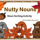 Nutty Nouns Sorting Game
