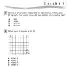 NYS Math Practice - Book 1 - 2nd Test