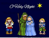 O Holy Night  Bulletin Board in a Bag