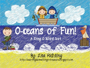O-ceans of Fun: A Long O Word Sort