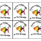 """""""O-fish-ally in 3rd Grade"""" Gift Tags"""