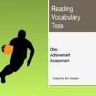 OAA Reading Vocab Toss 1