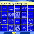 OAA Reading Vocabulary Test Terms Matching Game for the Ac