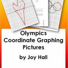 OLYMPICS First Quadrant Coordinate Graphing Pictures