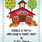 OPEN HOUSE &amp; BACK TO SCHOOL NIGHT - Bushels of Fun!