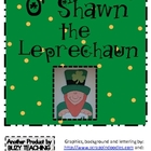 O'SHAWN The St. Patrick's Day Leprechaun Craftivity Writing