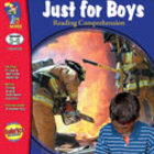 Just for Boys Reading Comprehension Gr. 3-6 (Enhanced eBook)