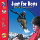 Just for Boys Reading Comprehension Gr. 6-8 (Enhanced eBook)