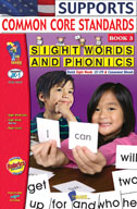 Sight Words and Phonics Book 3